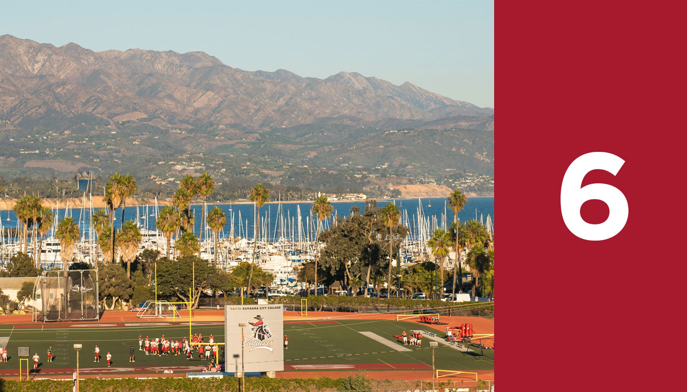Santa Barbara City College's final step to enrollment is register and pay fees.